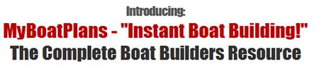 Diy My Boat Plans