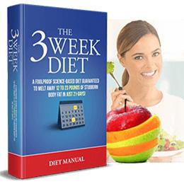 3 Week Diet Diet Manual