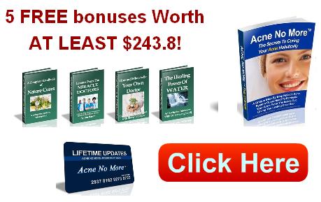 acne no more bonus