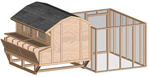 building a chicken coop real review