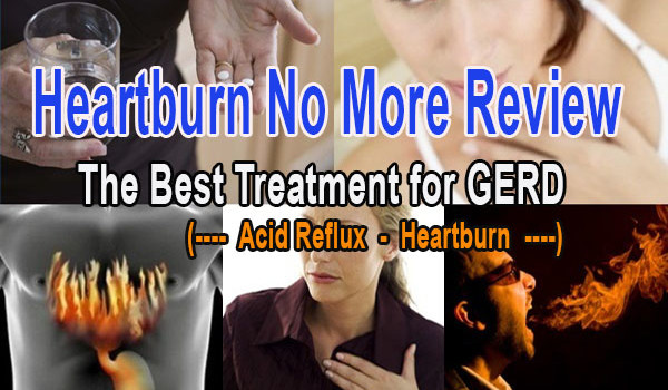 Don't buy Heartburn No More until you READ this HONEST review. My mom tried Heartburn No More to get rid of heartburn and acid reflux and here are results