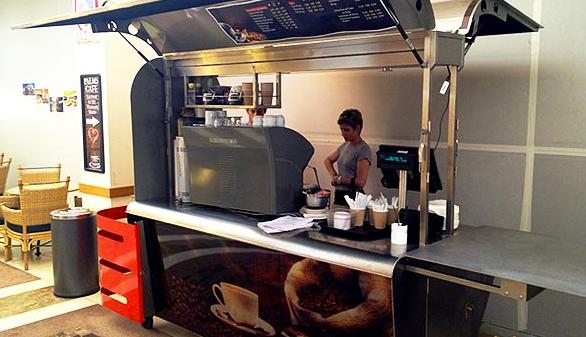 Open A Coffee Cart Or Kiosk & Make Money