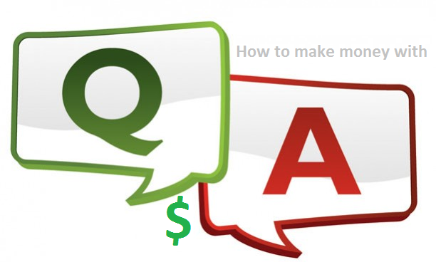 Make money online with Q&A sites