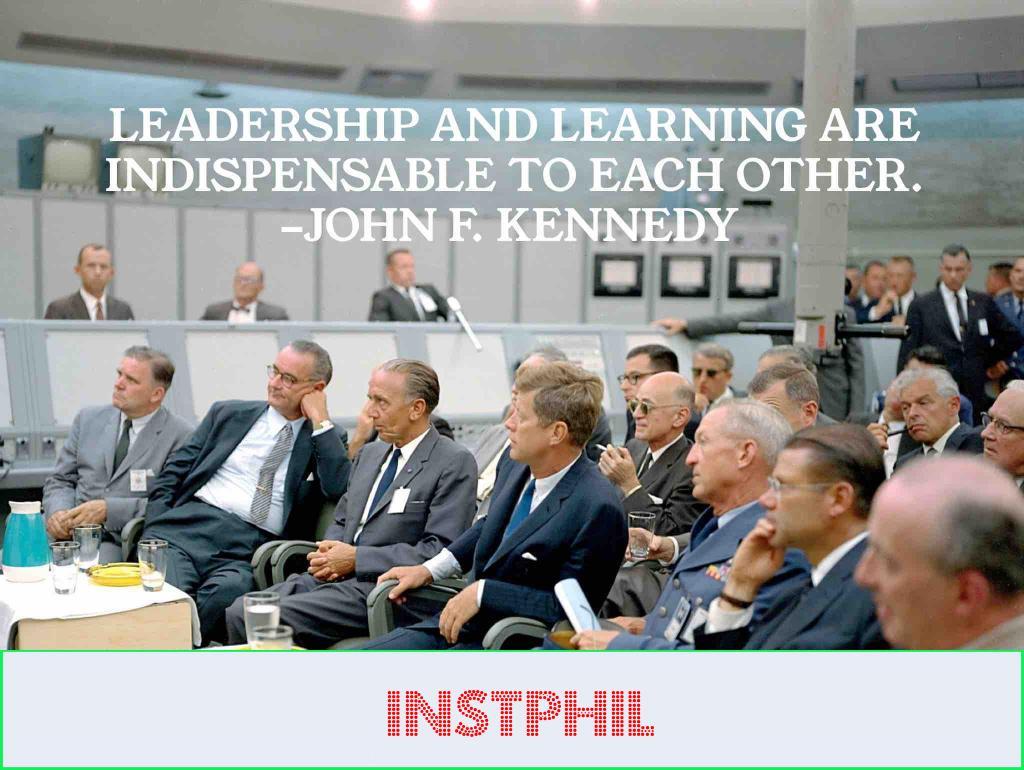 JFK leaders quote
