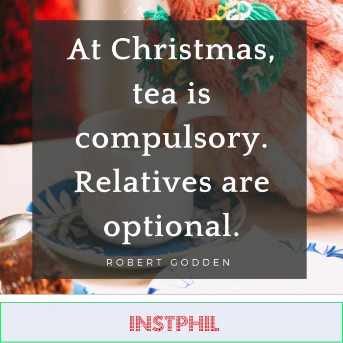 Robert Godden funny Christmas quote