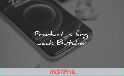business quotes product king jack butcher wisdom smartphone