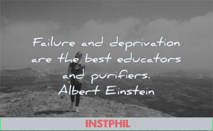 stoic quotes failure deprivation best purifiers albert einstein wisdom man walking