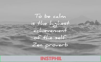 stoic quotes calm the highest achievement self zen proverb wisdom